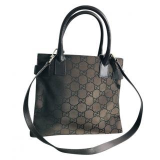 Gucci Monogram Canvas Tote Bag