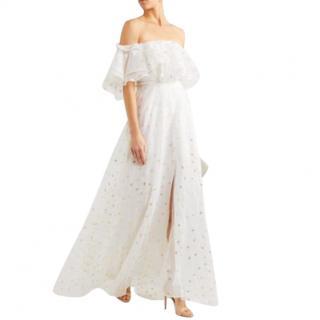 Temperley Off-Shoulder White Dress