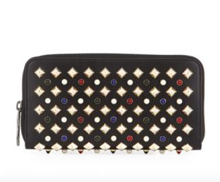 Christian Louboutin Panettone Tudor leather wallet