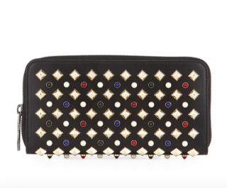 Christian Louboutin Panettone Tudor leather wallet