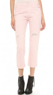 Acne Studios Pop Pink Trash Jeans