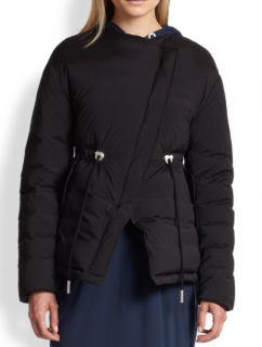 Acne Studios Tam Black Puffer Down Jacket