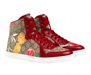 Gucci Tian Supreme High Top Sneakers