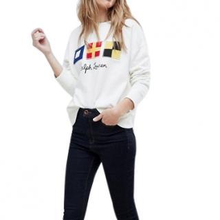 Polo Ralph Lauren Rustic Flag Logo Sweatshirt