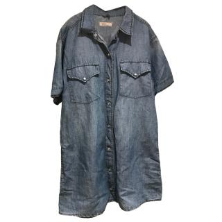 Isabel Marant Etoile Denim Shirt Dress