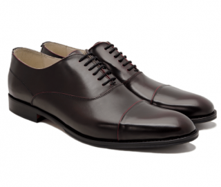 Gagliardi Burgundy Cap Toe Lace Up Shoe