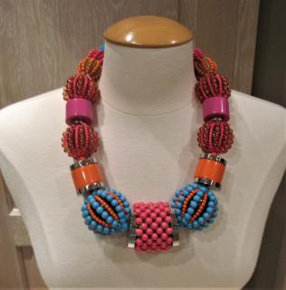 Dyrberg/Kern Beaded Multi-Coloured Necklace