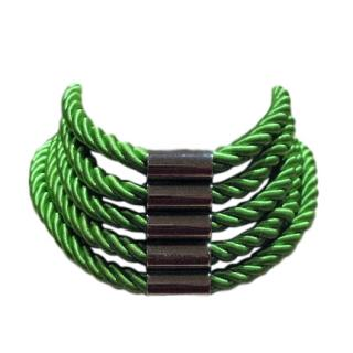 Dyrberg/Kern green rope choker
