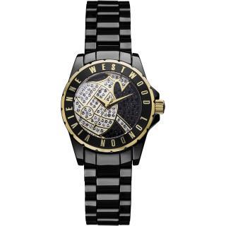 Vivienne Westwood Black & Gold Sloane Watch