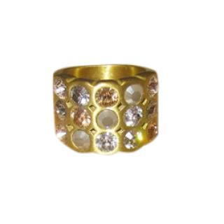 Dyrberg/Kern Crystal Embellished Ring