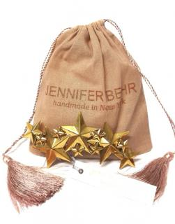 Jennifer Behr Gold Petite Constellation Barrette