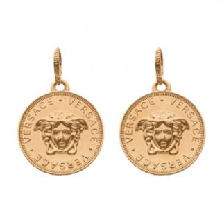 Versace Bit-Versace Pendant Medusa Earrings