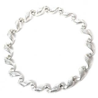 Elements Silver Coiled Bangle Sterling Silver