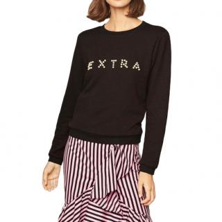 Milly Extra Black Pearl Sweatshirt