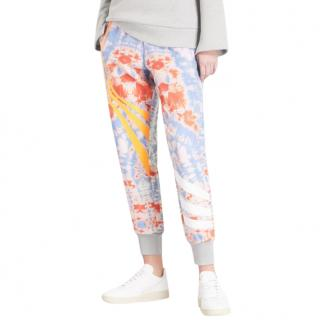 Fyodor Golan psychedelic print tapered joggers in multicolour