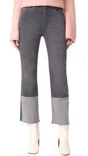 La Vie Rebecca Taylor Patch Jeans