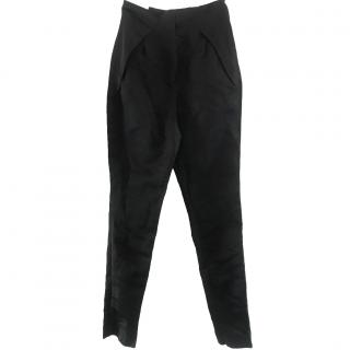 Lanvin silk trousers