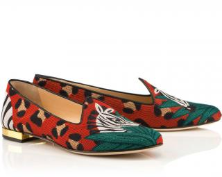 Charlotte Olympia Animal Kingdom Loafers