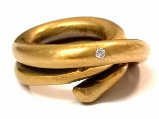 Noritamy Diamond Spring Ring
