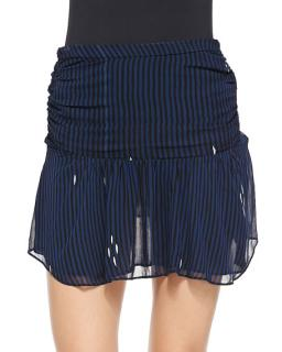 Isabel Marant Etoile Cary high waist striped mini skirt