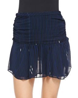 Isabel Marant Etoile Cary high waist striped mini skirt
