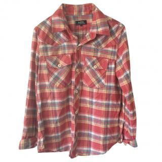 APC checked shirt