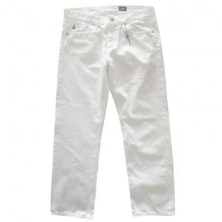 Adriano Goldschmied White Jeans