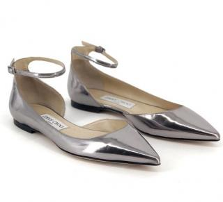 Jimmy Choo Lucy Pointed Toe D'Orsay Flat