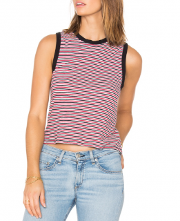 Rag & Bone cotton striped top