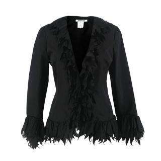 Georges Rech Black Silk Blend Jacket