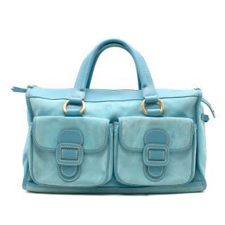 Celine Blue Shoulder Bag