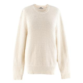 Acne Studios Beige Knitted Jumper