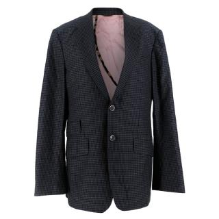 Paul Smith Gingham Checked Blazer
