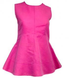 Marni Pink Peplum Top