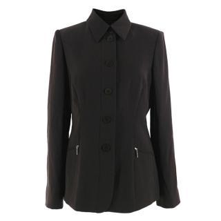 Armani Collezioni Classic Brown Jacket