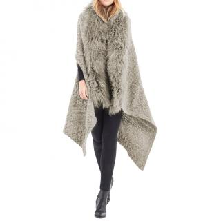 Hayley Menzies Alpaca Portobello Blanket Wrap