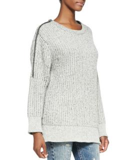 IRO Natural Zip Detail Manouka Sweater