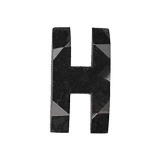 Noritamy Black Diamond H Stud Earring