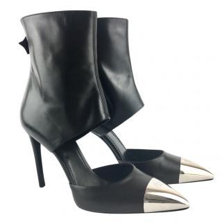 Louis Vuitton Cut-Out Ankle Pumps