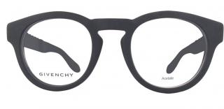 Givenchy Matte Black Studded Frames Glasses