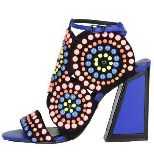 Kat Maconie Blue Frida Sandals