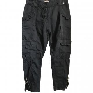 Galliano Black Cargo Pants New with tags