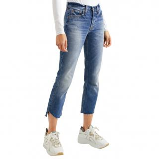 GRLFRND Tatutm Slim Kick Jeans New with tags