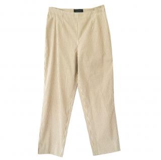 Piazza Sempione Audrey Gingham Trousers
