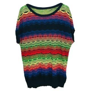 Missoni M Multicolor Oversize Knit Tunic