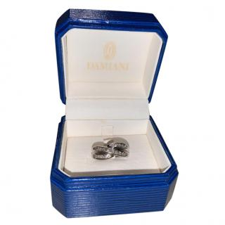 Damiani Diamond Set White Gold Ring