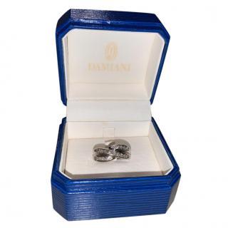 Damiani Diamond Set White Gold Ring