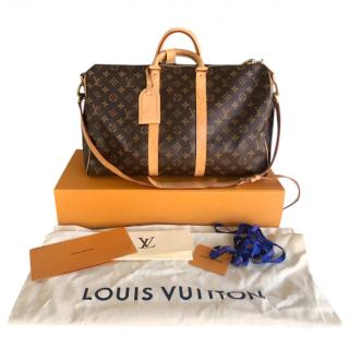 142163f42444 Louis Vuitton LV monogram bandouliere 45 bag