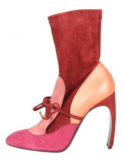 Nicholas Kirkwood x Roksanda suede sock ankle boots
