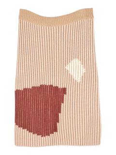 Missoni Cashmere Stretch Knit Skirt